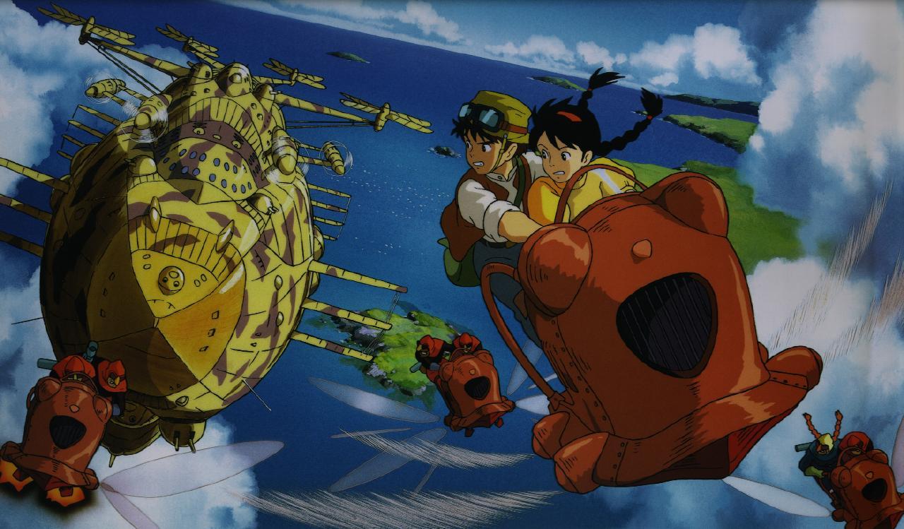 les goodies  les fond d u0026 39 ecran ou wallpaper des dessins anim u00e9s de miyazaki