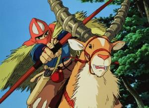 Ashitaka et Yakkuru
