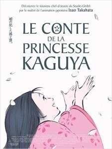 Le Conte de la princesse Kaguya affiche