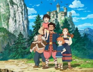 Ronya fille de bandits Ghibli