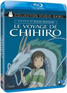 Le Voyage de CHihiro jaquette Blu-ray