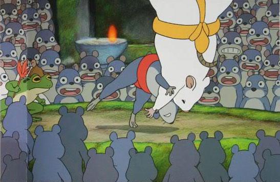 Les souris sumo