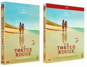 jaquette dvd blu-ray la tortue rouge
