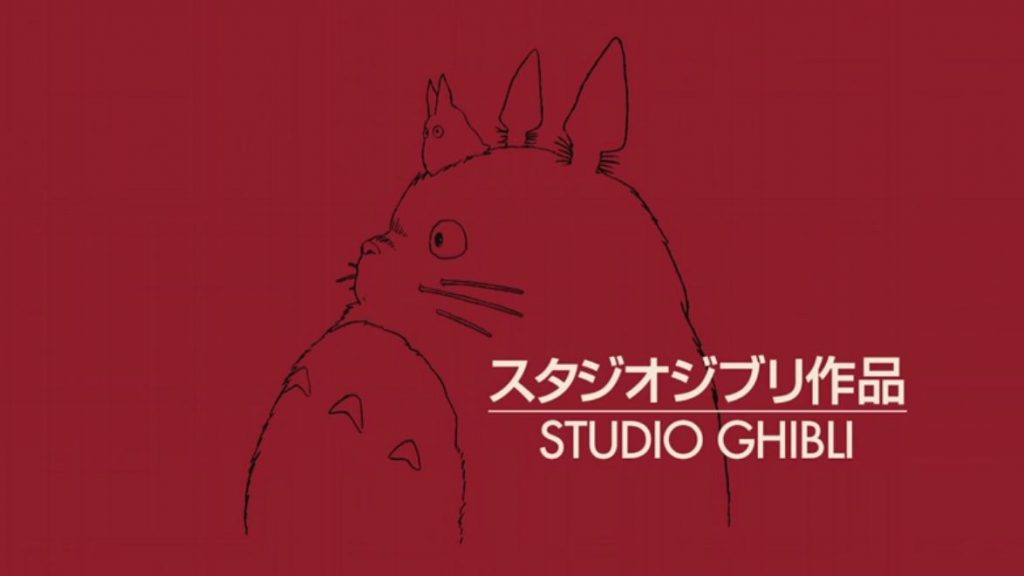 logo ghibli red