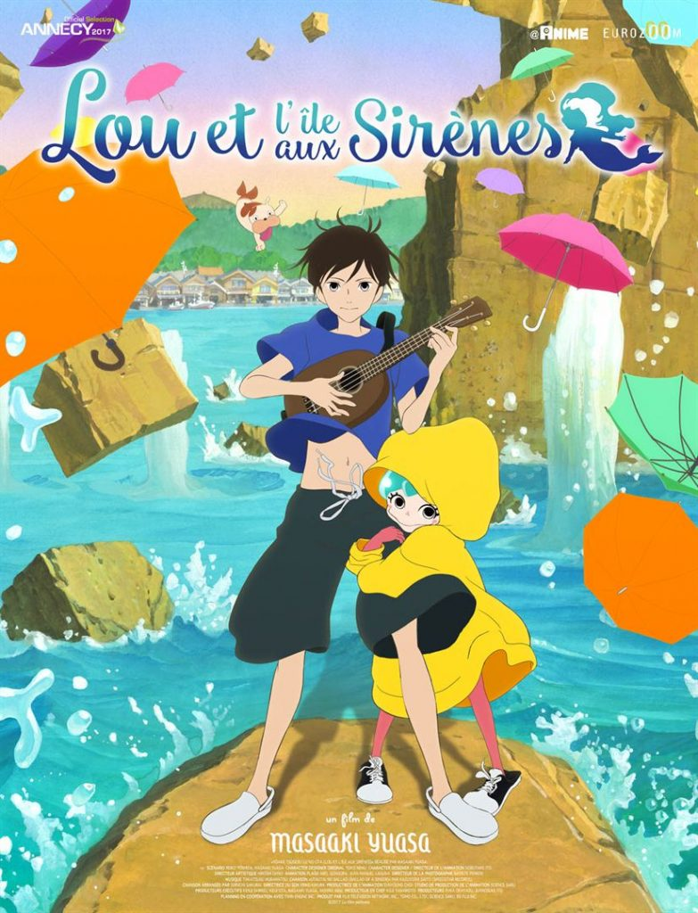Affiche française Lou et l'île aux sirènes