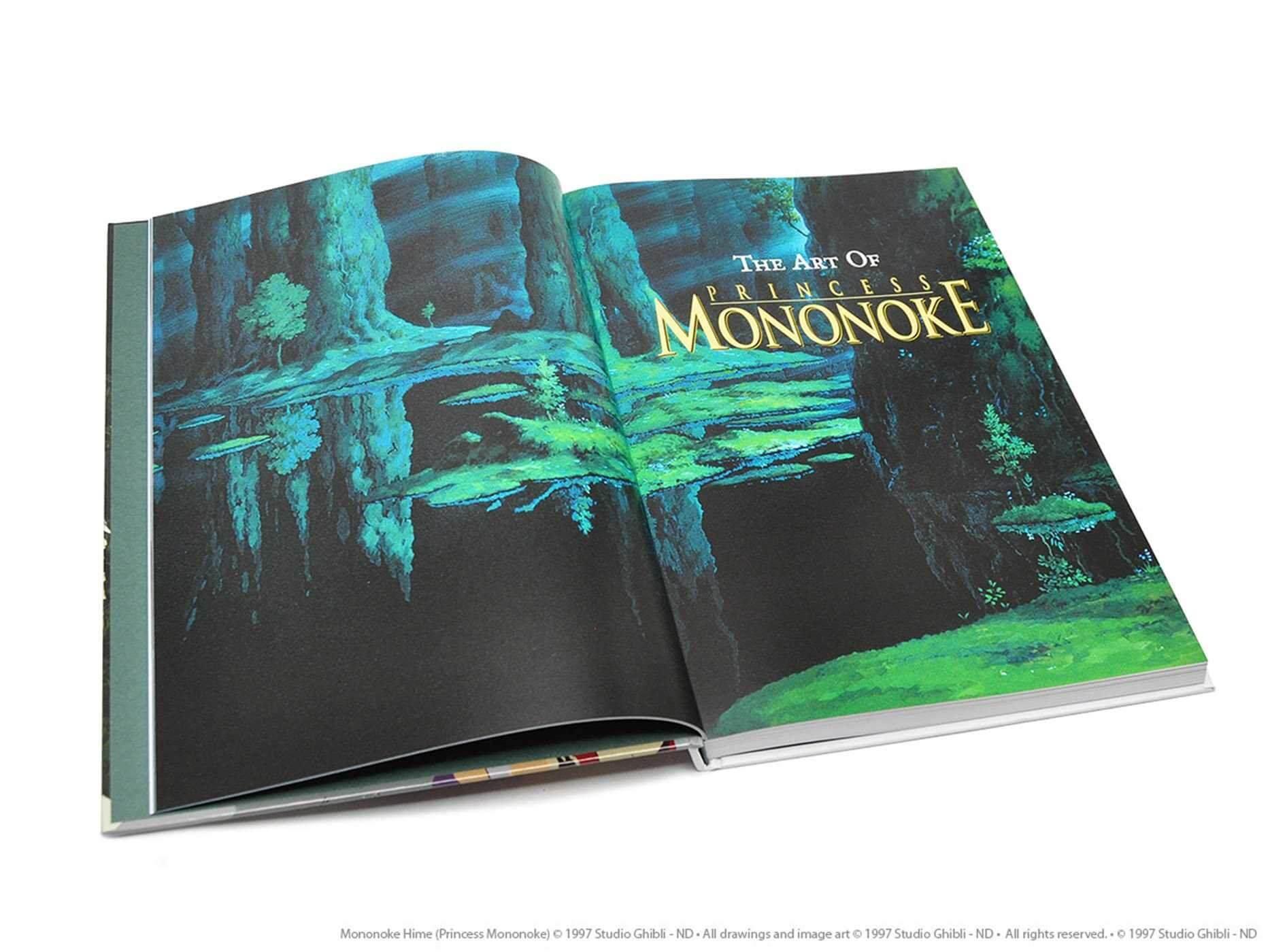 L'Art de Princesse Mononoké en novembre chez Glénat