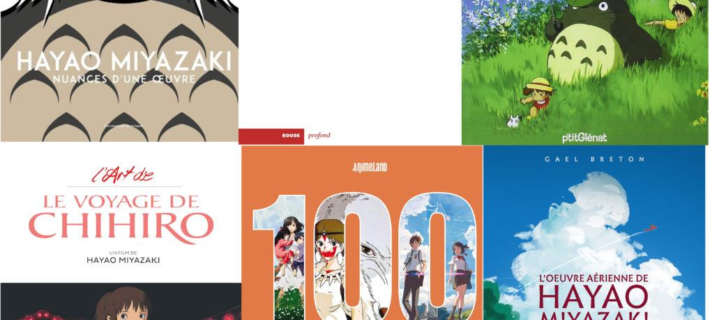 Sélection de livres Ghibli pour Noël