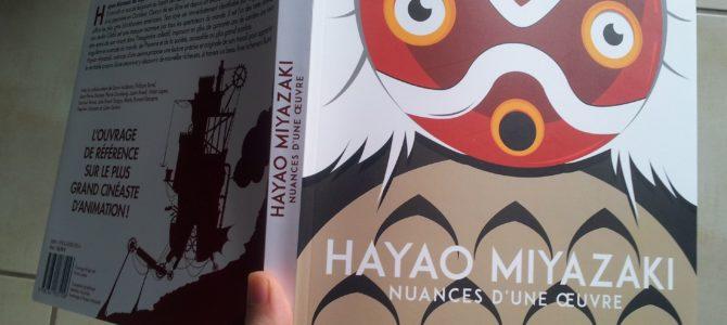 Mon avis sur le livre Hayao Miyazaki : Nuances d'une œuvre des Moutons électriques