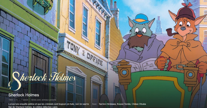 Sherlock Holmes, la série TV d'animation d'Hayao Miyazaki est désormais sur Netflix | Studio Ghibli - Le Blog