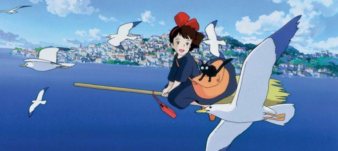 L'Album, L'Art de et l'Anime Comics du film Kiki la Petite Sorcière en septembre chez Glénat