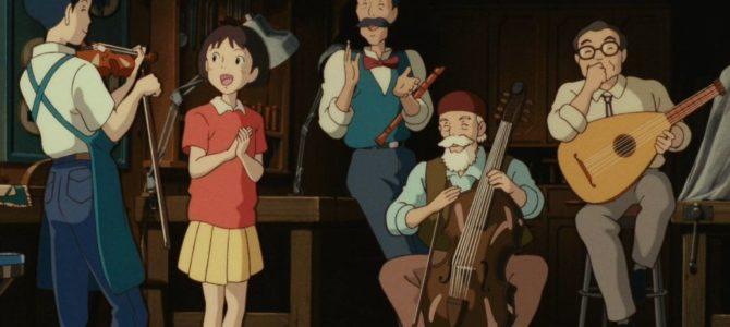 Toutes les musiques des films Ghibli