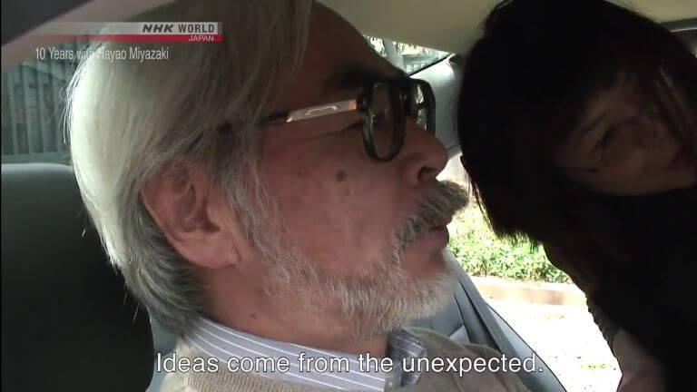 Le documentaire « 10 Years with Hayao Miyazaki » est