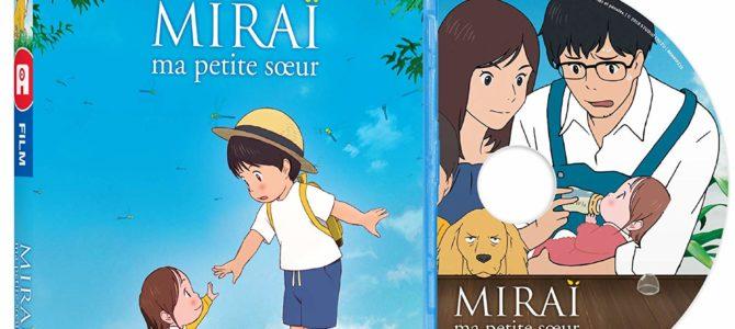 Sortie des DVD/Blu-ray de Miraï, ma petite sœur pour le 26 avril