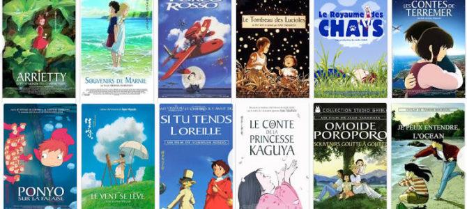 Où regarder les films Ghibli en streaming légalement ?