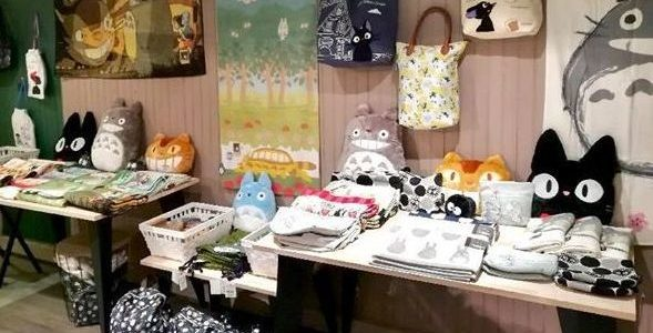La boutique Pop Up Store Studio Ghibli de retour vendredi