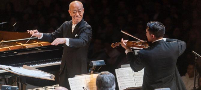 Joe Hisaishi en concert au Philharmonie de Paris en septembre 2020