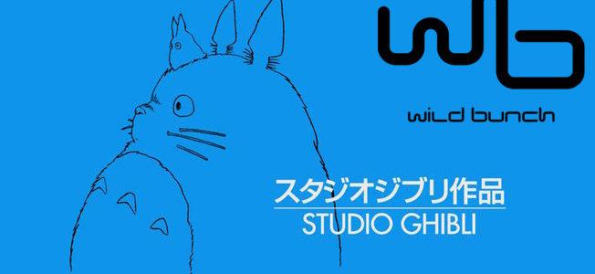 Wild Bunch devient le distributeur du Studio Ghibli pour les salles, vidéos et TV en France